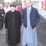 Pater Sylvester en broeder Dirk
