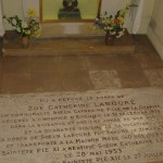 hier was het graf van Catharine