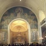zicht kapel Rue du Bac